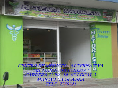 "CENTRO DE MEDICINA ALTERNATIVA ""MI TIENDA NATURISTA"" CARRERA 13 No. 14- 63 LOCAL 3"