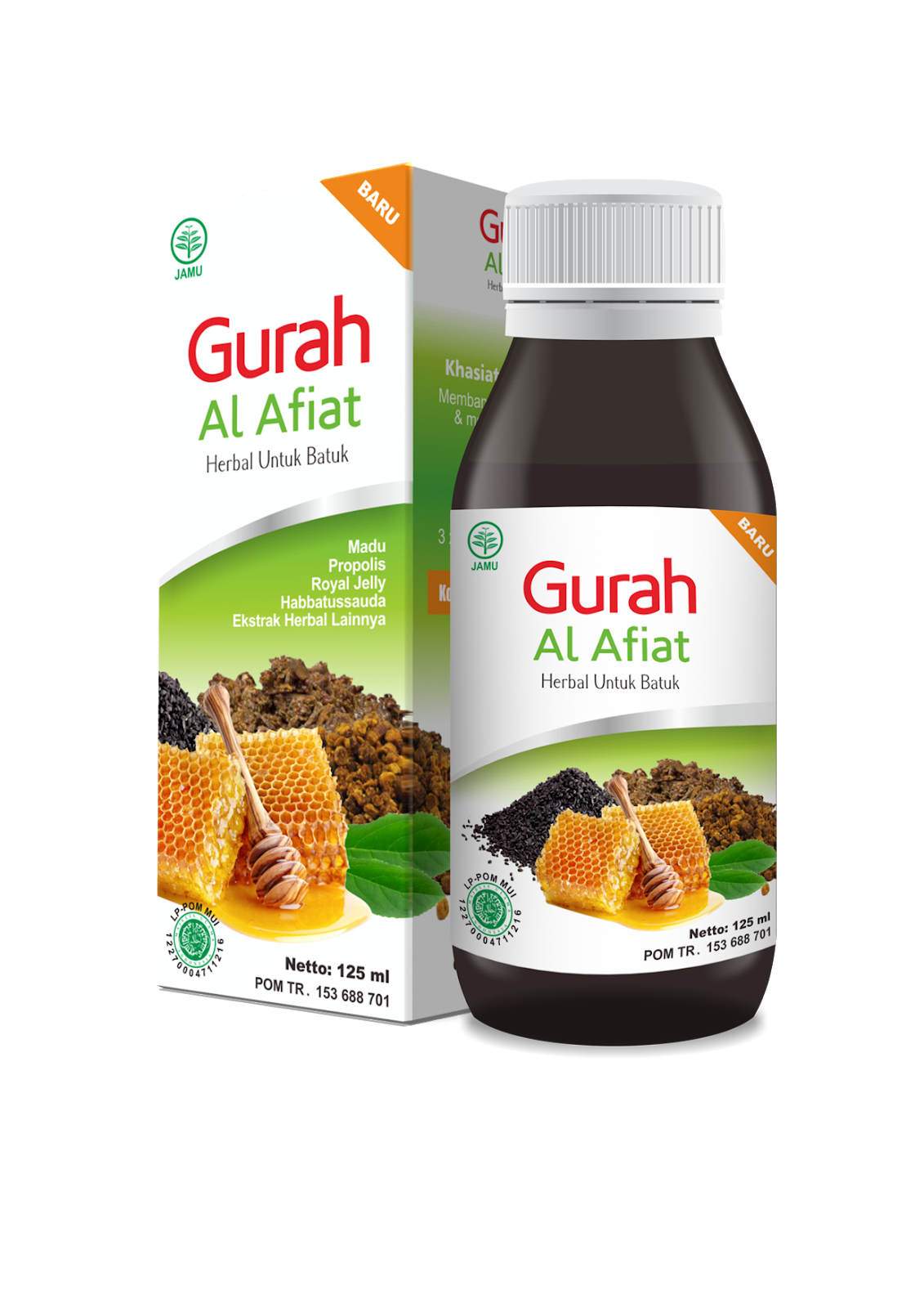 GURAH AL-AFIAT[HERBAL FLU & BATUK]