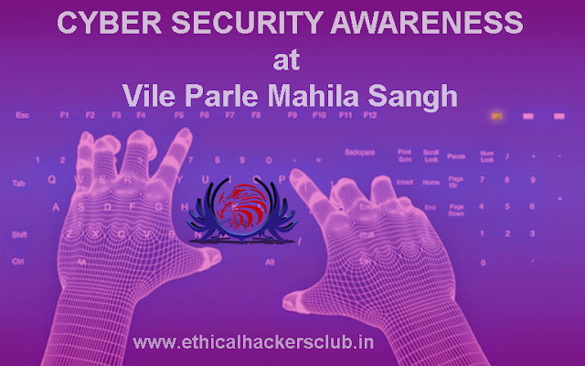 Cyber Security Awareness at Mahila Sangh