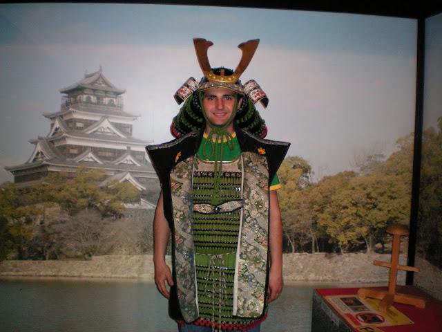Disfraz de armadura japonesa