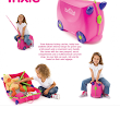 Trunki Little Luggage for Little People (Trixie pink)