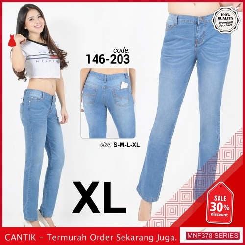 MNF378J151 Jeans 146203 Wanita Jumbo Xl Jeans Skinny 2019 BMGShop