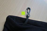 Haken: Laufhose Damen capri mit Hüfttasche für Handy Leggings Fitness Sport tights schwarz muster yoga hose sporthose jogging farbig dreiviertel 3/4 lang von Formbelt