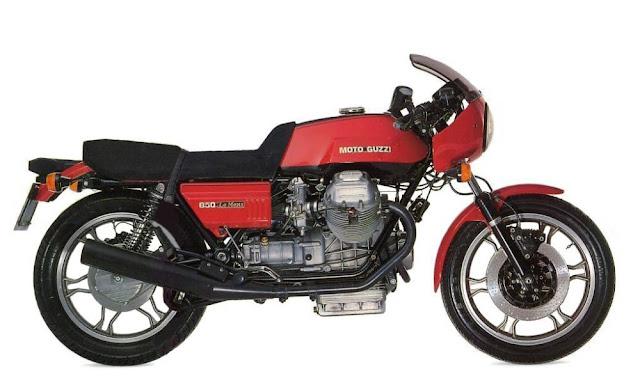Moto Guzzi Le Mans 850 1970s Italian classic motorcycle