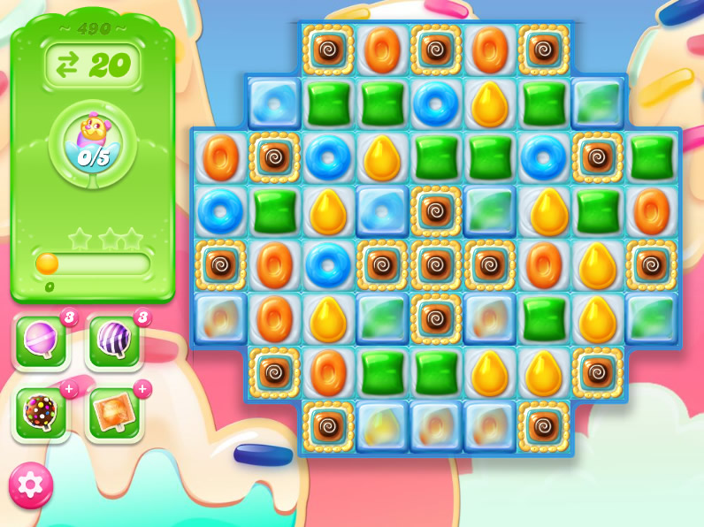 Candy Crush Jelly Saga 490