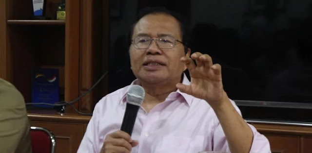 Rizal Ramli: Enggar 'Petantang Petenteng', Bahasa Inggrisnya Norak, Kampungan