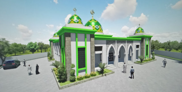 PU-PR Tebo Pastikan  Pembangunan Islamic Center Kecamatan Selesai Tepat Waktu