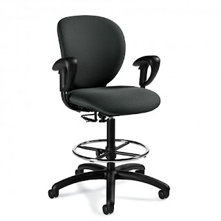 Global Total Office Azeo Drafting Chair