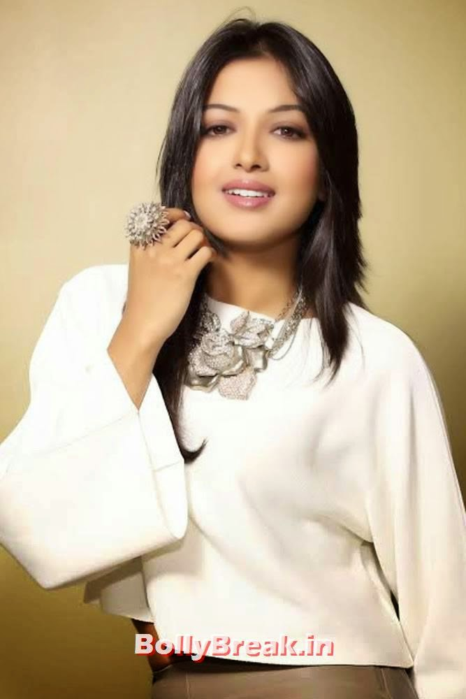 , Catherine Tresa in Leather tight Pants, White Top - New hot Images