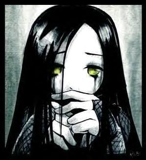 ulgobang: Sad Anime girl crying
