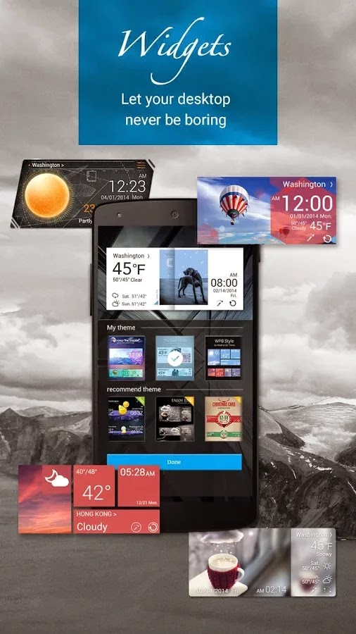 GO Weather Forecast & Widgets Premium v5.31