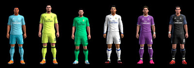 PES 2013 Real Madrid Complete GDB 2016-2017 by ABIEL