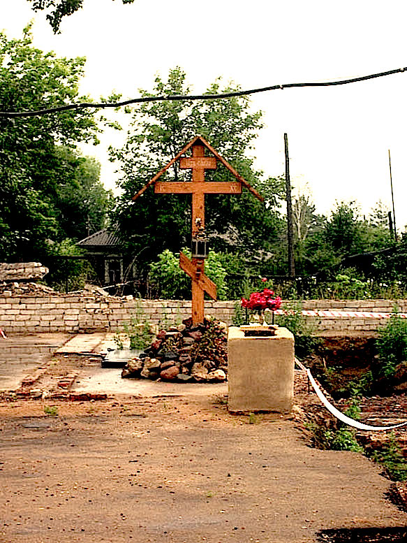 Место погребения преподобного Петра Ордынского, Ростовского чудотворца