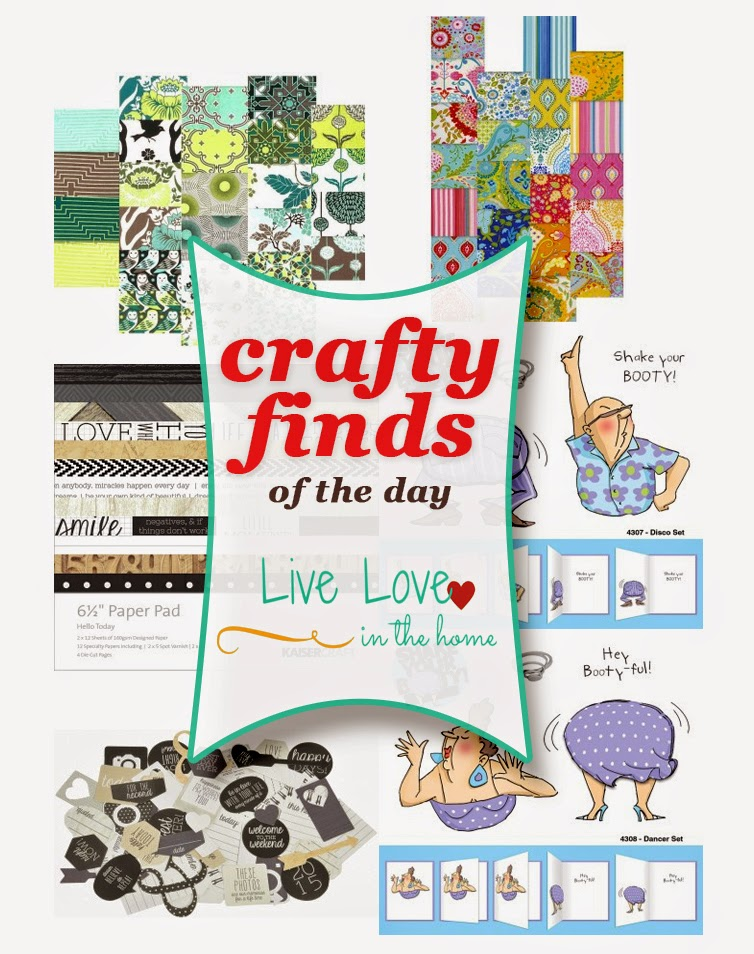 Crafty Finds of the Day | Craft Supplies | Live Love in the Home