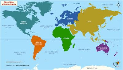 benua terbesar di dunia adalah