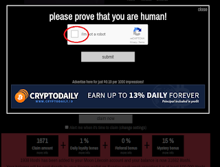 klik tombol verifikasi dan ikuti intruksinya