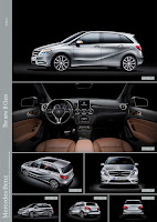 2012 All-New Model Mercedes-Benz B-Class W246 Official Picture