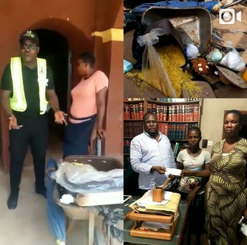 Edo Food Vendor Returns After Nigerians Donated N500k For Her - Task Force
