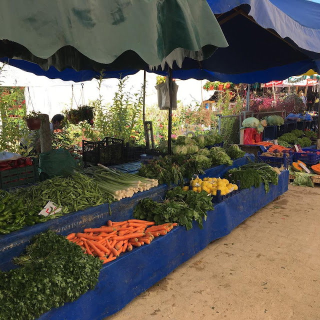 Organik Ürünlerin Satıldığı Ağva Pazarı
