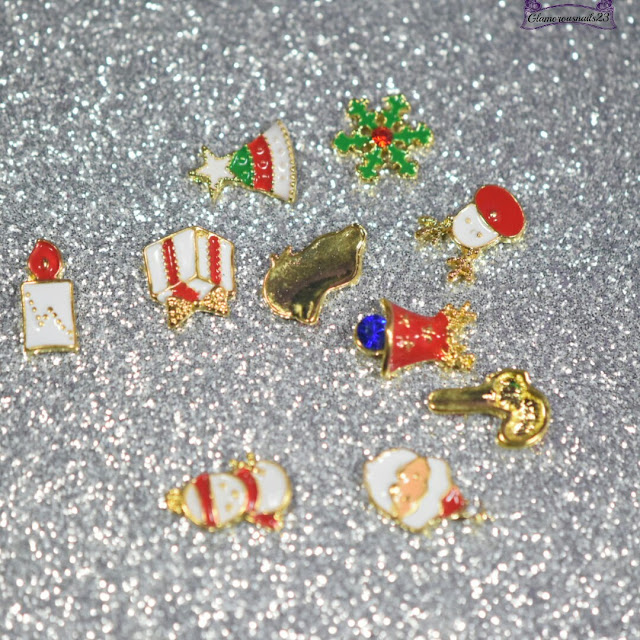 Born Pretty Store 3D Christmas Nail Decorations