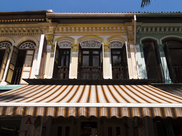 shopfront in Kampong Glam in Singapore