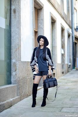 Botas de color negro