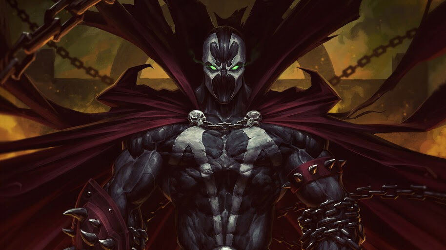 Spawn, Comic, Art, 4K, #6.412