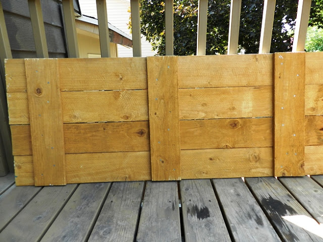 fence board pallett