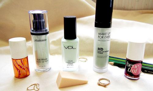 Productos de maquillaje para el rostro : Praimers