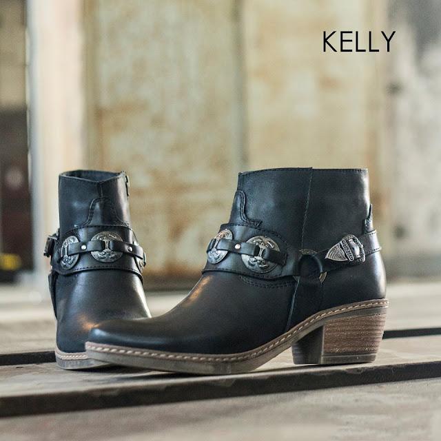 Botas texanas invierno 2016 moda en calzado femenino Lady Stork.