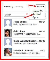 find deleted facebook inbox messages