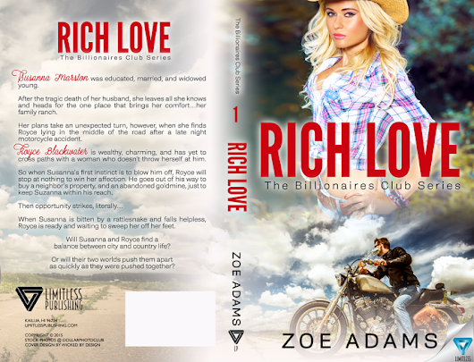Blog Tour: Rich Love by Zoe Adams