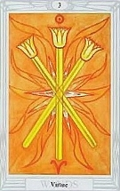 The Three of Wands, Thoth