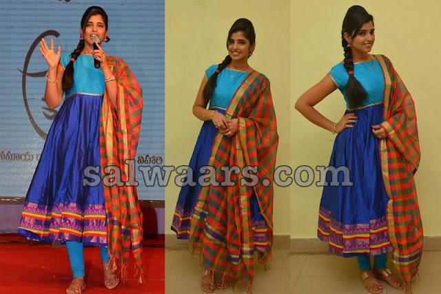 Shyamala Blue Salwar