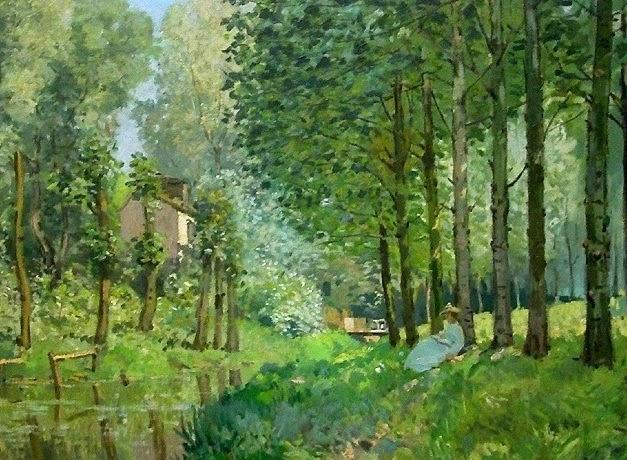 Descanso à Beira da Água - Alfred Sisley ~ Um dos mais representativos paisagistas do impressionismo
