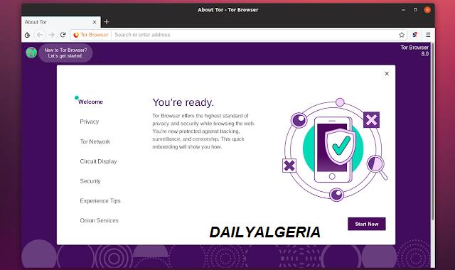 تعرف على تقنية Tor Browserفي متصفح موزيلا فايرفوكس قم  بتفعيلها  والدخول للأنترنت المظلم ومنع المواقع من تتبعك
