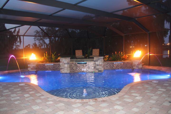 Tampa Pool Builder Tropical Pools And Pavers January 2013