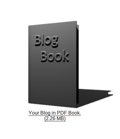 BlogBooker, Backup Blog Dalam Sebuah Buku