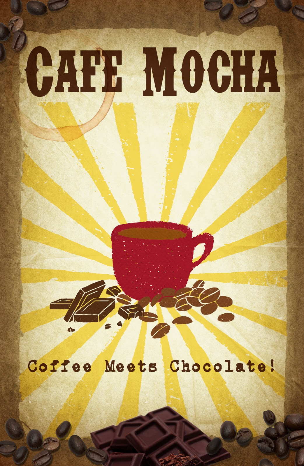 Kaffee Poster Marlene Tascarella Coffee Poster Series