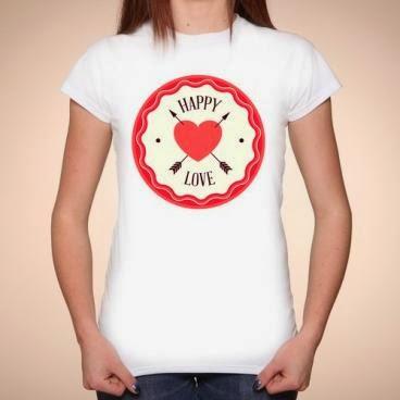 koszulka Happy love