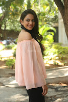 Rakul Preet Singh in lovely Pink Crop Top and Black Trousers at Jaya Janaki Nayaka success meet 036.JPG