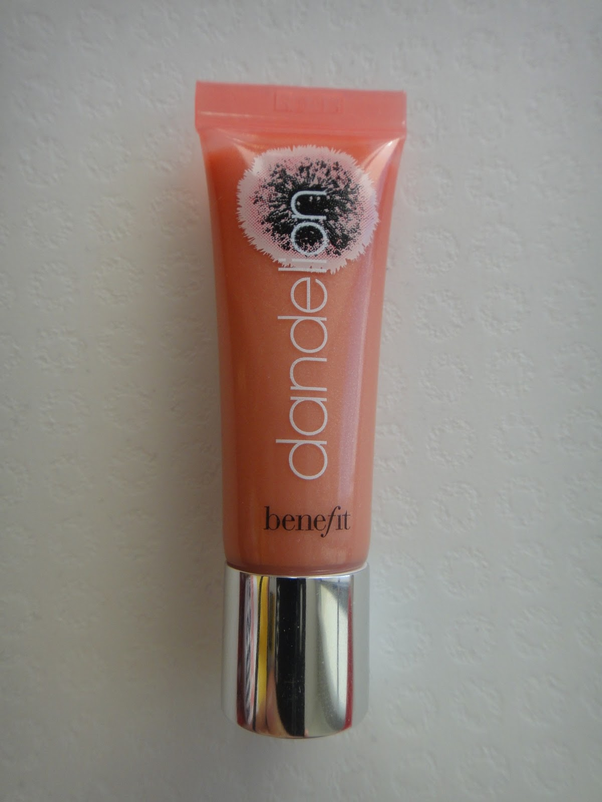 Jolly Gloss Swatch: Weare Practically Frugal: REVIEW: Benefit Dandelion Ultra