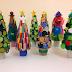 ZPP Meio Ambiente: Árvore de Natal de Material Reciclado