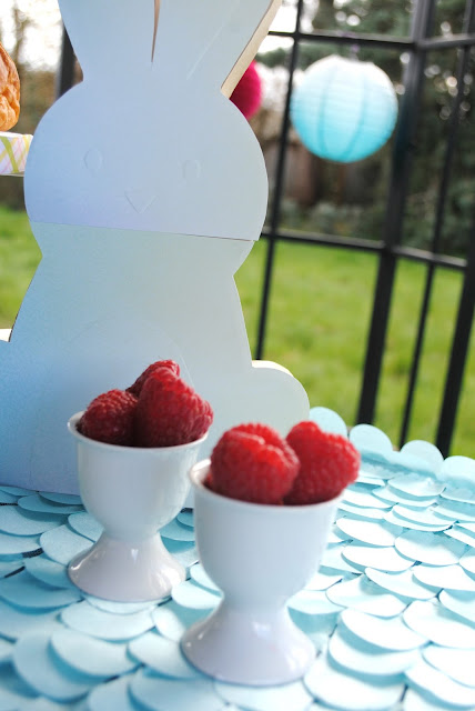 Serve up fresh fruit at your Easter brunch. More ideas can be found at FizzyParty.com