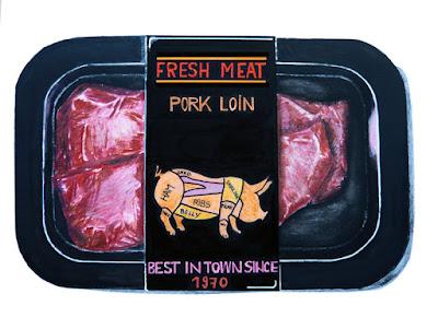 "Dessin ""Fresh meat"""