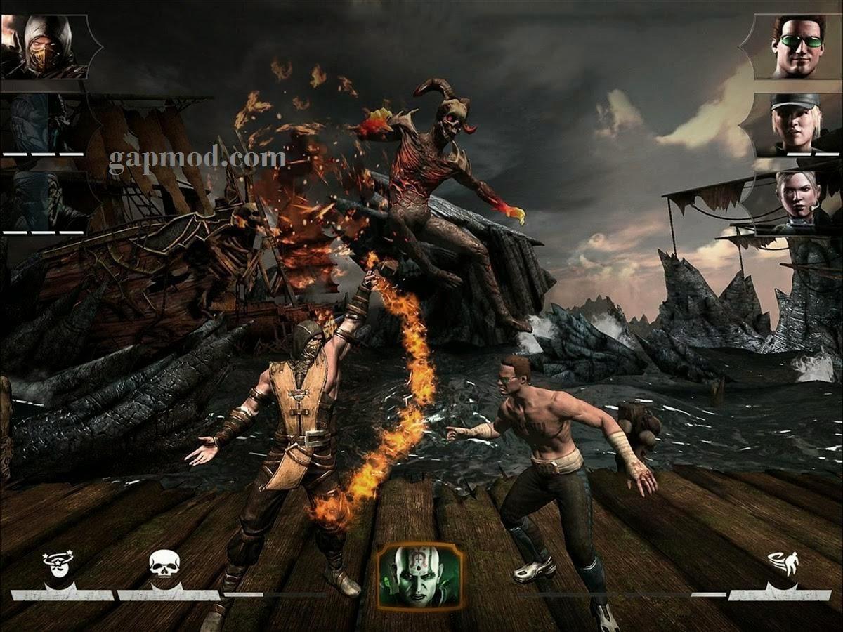 download game mortal kombat x mod apk