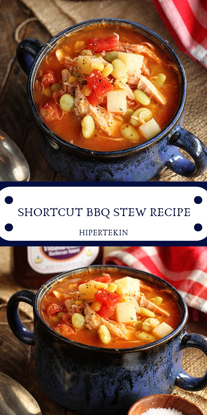 SHORTCUT BBQ STEW RECIPE