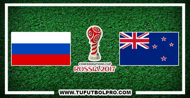 Ver Rusia vs Nueva Zelanda EN VIVO Por Internet Hoy 17 de Junio 2017