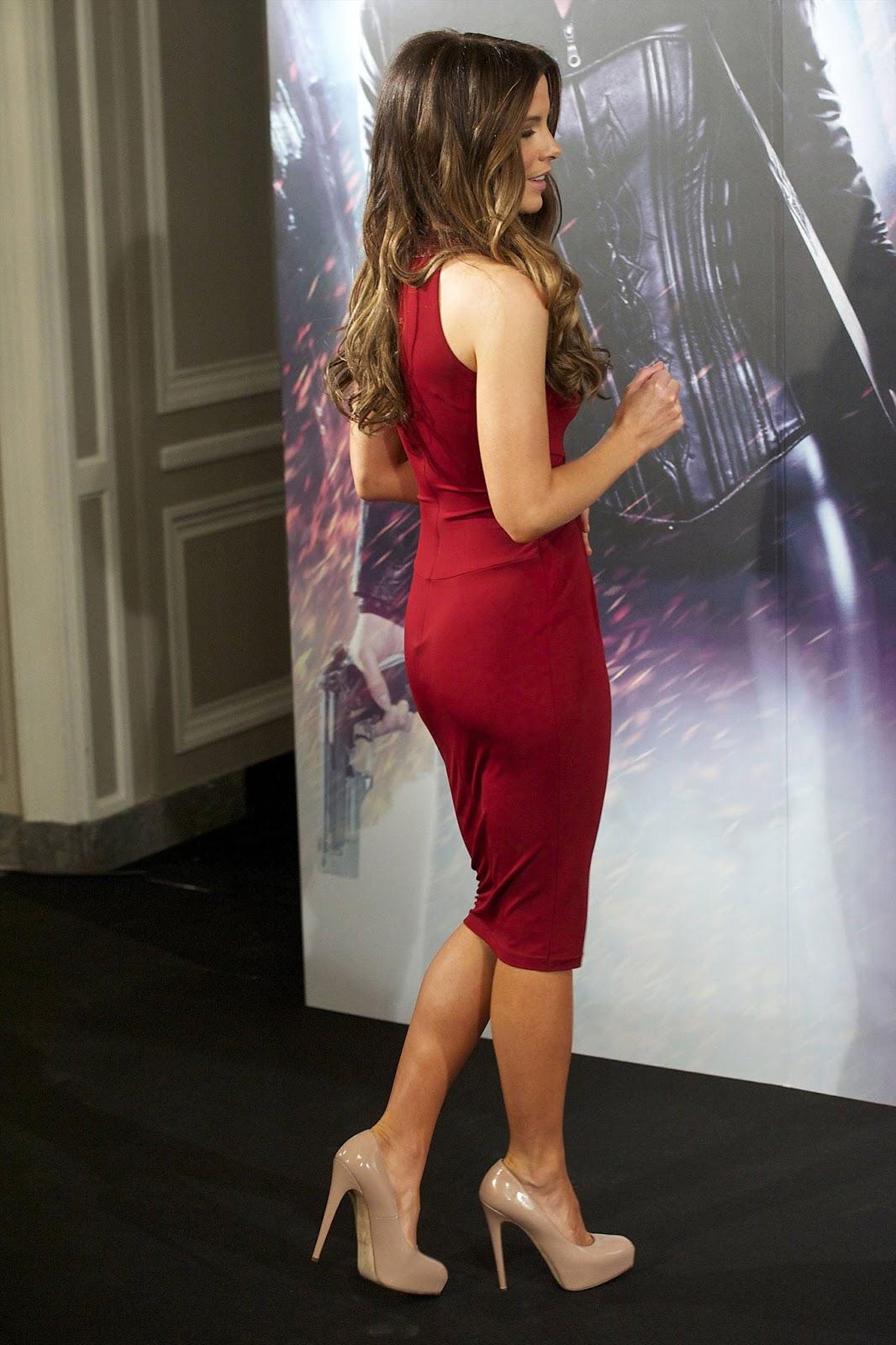 Kate Beckinsale at Underworld Awakening Photocall in Madrid