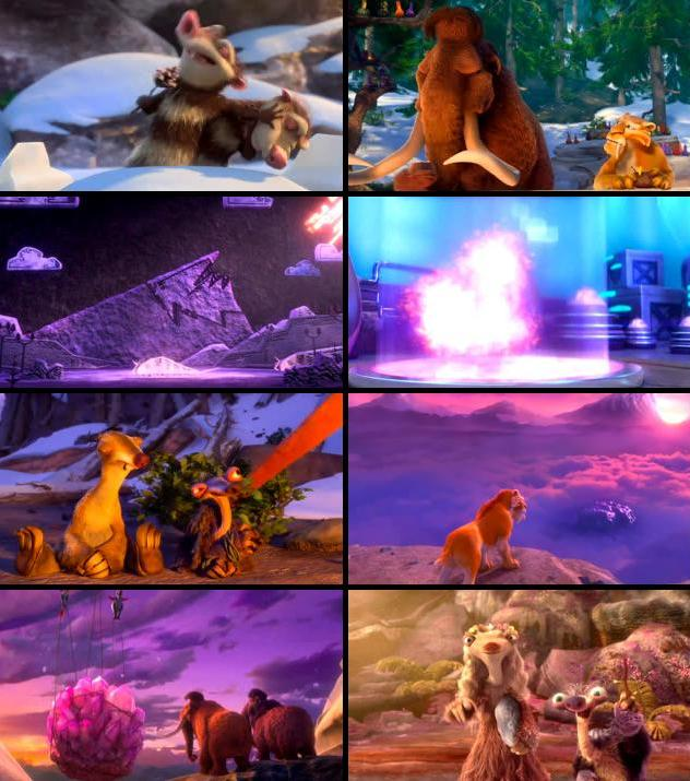 Ice Age Collision Course 2016 Dual Audio Hindi 480p HDRip